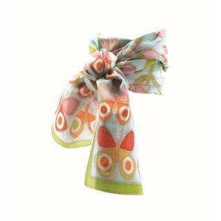 Djeco Knutselset Zijden sjaal schilderen - Vlinders