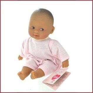 Corolle Mini Calin babypopje Gracieux Raye Rose Yeux Marron