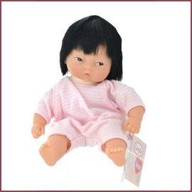 Corolle Mini Calin babypopje Yang Raye Rose Yeux Marron