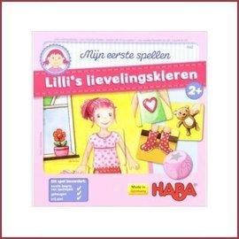 Haba Mijn eerste spel - Lilli's lievelingskleren