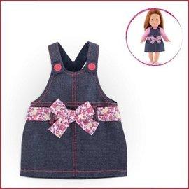 Corolle Denim jurk voor Ma Corolle poppen (36 cm)