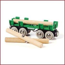 Brio Houttransportwagon