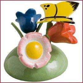 Wendt & Kühn Vlinder op bloemen