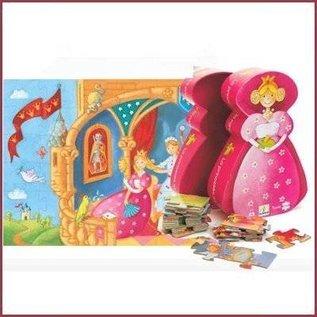 Djeco Puzzel De prinses en de kikker