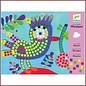 Djeco Knutselset Mozaiek Vogel en Lieveheersbeestje
