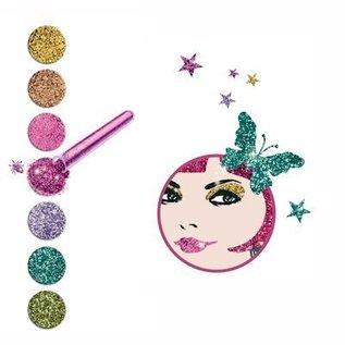 Djeco Knutselset Cleo pop en Rock glitterkunst