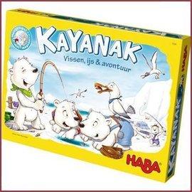 Haba Spel - Kayanak, vissen ijs en avontuur