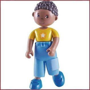 Haba Little Friends buigbaar poppenhuispopje Erik
