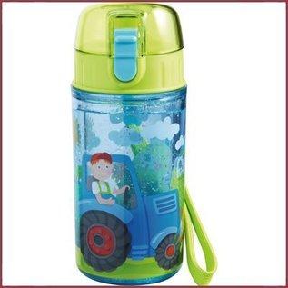 Haba Glitterdrinkfles Tractor