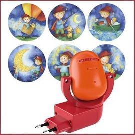 Haba Stopcontact projectorlampje met muziek Sterrenkabouters