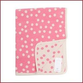 Klippan Katoenen wiegdeken Pongo roze