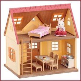 Sylvanian Families Heerlijk Huisje starterswoning, ACTIEPRIJS 29.99