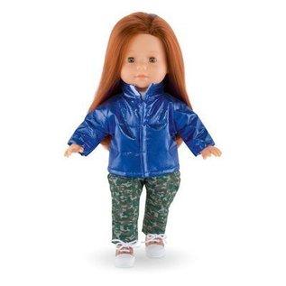 Corolle Glanzend blauw jasje voor Ma Corolle poppen (36 cm)