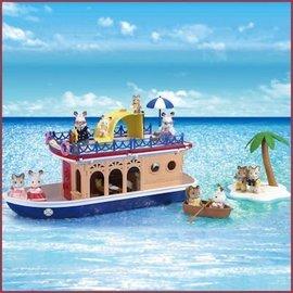 Sylvanian Families Seaside Cruiseschip woonboot