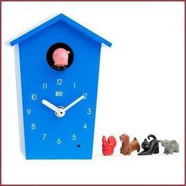 KooKoo Klok AnimalHouse - Blauw