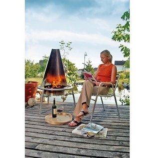 Haba Wind- en hittescherm voor Barbecue en Vuurkorf Set