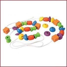 Plantoys Rijgkralen Lacing Beads