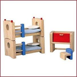 Plantoys Kinderkamer voor poppenhuis Neo