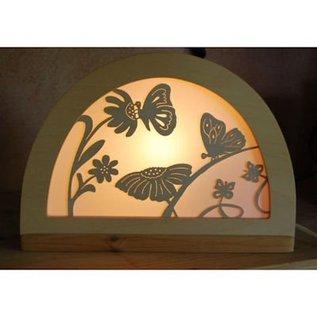 De Noest Silhouet Vlinder