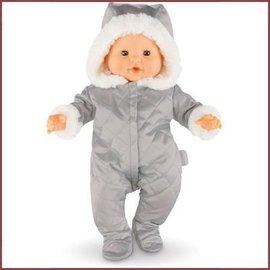 Corolle Zilverkleurig winterpakje voor Corolle babypop (36 cm)