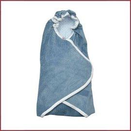 Lodger Wrapper Newborn Scandinavian Flannel - Steel Grey