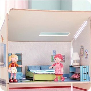 Haba Little Friends poppenhuisfiguurtje Koe