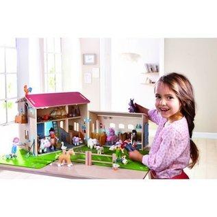 Haba Little Friends poppenhuisfiguurtje Eend