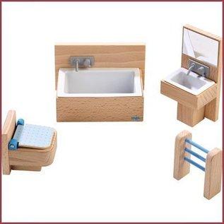 Haba Little Friends badkamer voor poppenhuis