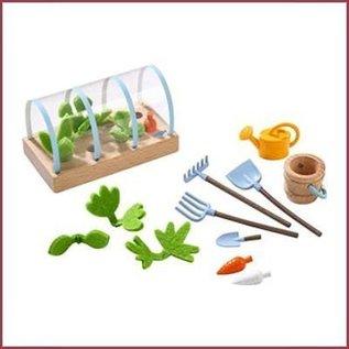 Haba Little Friends groentetuin voor poppenhuis en boerderij