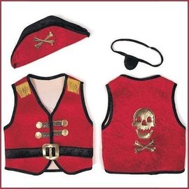 Trullala Piratenset rood L
