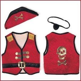 Trullala Piratenset rood L