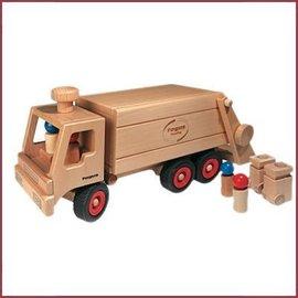 Fagus Houten Vuilniswagen