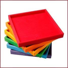 Grimm's Set van 6 regenboog frames