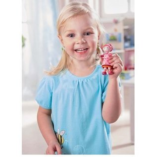 Haba Little Friends buigbaar poppenhuispopje Lilli