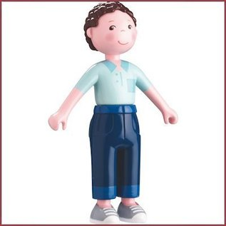 Haba Little Friends buigbaar poppenhuispopje vader Michael