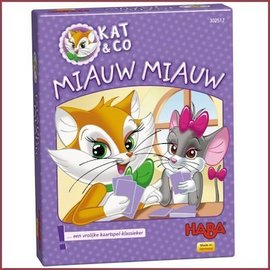Haba Spel - Kat & Co: miauw miauw