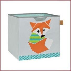 Lässig 4Kids Toy Cube Storage opbergbox Little Tree - Fox