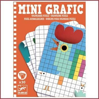Djeco Mini Grafic - Pixels kleuren