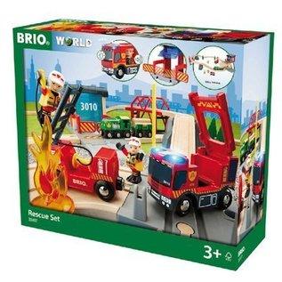 Brio Brandweer Deluxe set