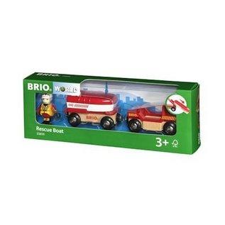 Brio Brandweerboot