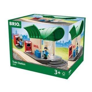 Brio Station met geluid