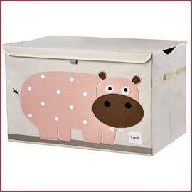 3 Sprouts Speelgoedkist Hippo