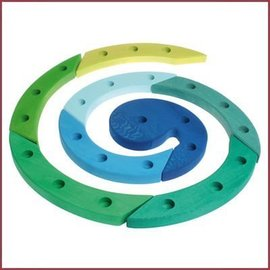 Grimm's Verjaardagsspiraal - blauw/groen