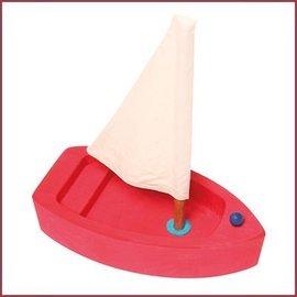 Grimm's Grote zeilboot - rood