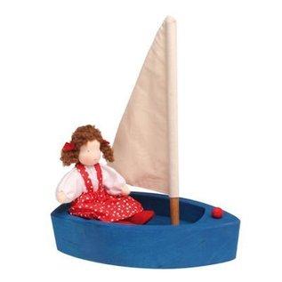 Grimm's Grote zeilboot - blauw