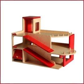 Van Dijk Toys Parkeergarage met lift