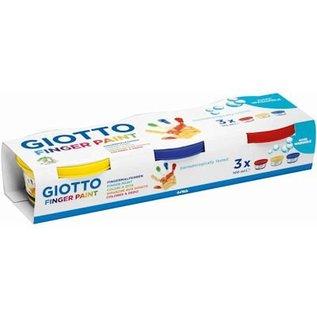 Giotto vingerverf 3 bakjes