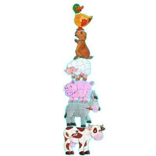 Djeco Giant Puzzel Daisy en haar vriendjes