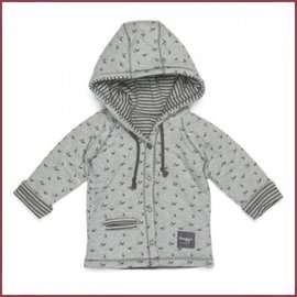 Snooze Baby Jacket Birds storm grey