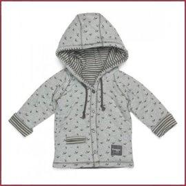 Snooze Baby Jacket Birds storm grey